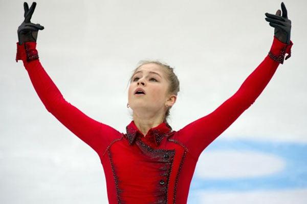 15 летняя фигуристка Юлия Липницкая Сочи 2014